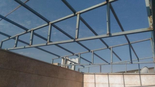 پوشاندن سقف پاسیو